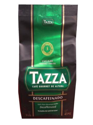 Tazza Decafinated Coffee