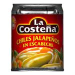 Whole Jalapeno Peppers - Canned Chile by La Costena