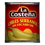 Serrano Peppers - La Costena