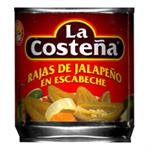 Jalapeno Pepper - Canned Jalapenos by La Costena